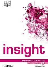 Insight Intermediate: Teacher's Book with DVD (книга вчителя) - фото обкладинки книги