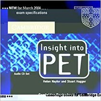 Робочий зошит Insight into PET Audio CDs