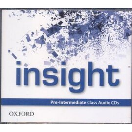 Insight Pre-Intermediate Class Audio CDs (аудіодиск) - фото книги