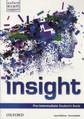 Insight Pre-Intermediate: Student's Book (підручник) - фото обкладинки книги