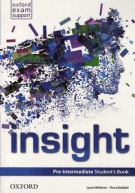 Insight Pre-Intermediate: Student's Book (підручник) - фото книги
