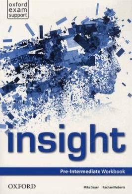 Insight Pre-Intermediate: Workbook - фото книги