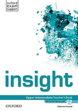 Insight Upper-Intermediate: Teacher's Book with DVD (книга вчителя) - фото книги
