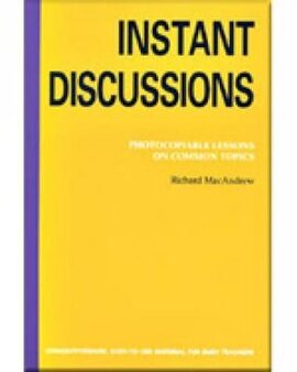 Instant Discussion : Photocopiable Lessons on Common Topics - фото книги