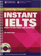 Instant IELTS Book and Audio CD Pack - фото обкладинки книги