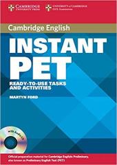 Посібник Instant PET Book and Audio CD Pack