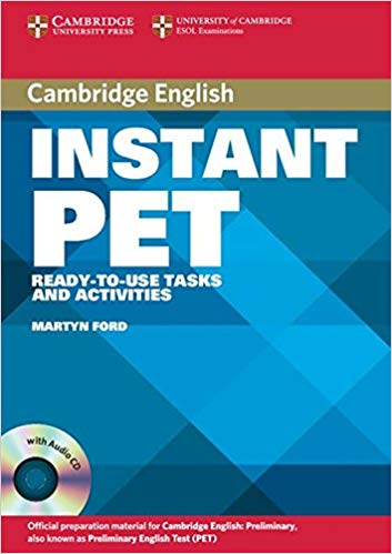 Комплект книг Instant PET Book and Audio CD Pack