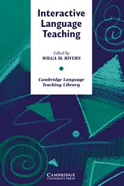 Interactive Language Teaching - фото книги