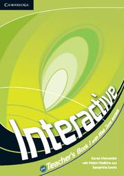 Книга для вчителя Interactive Level 1 Teacher's Book
