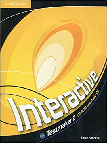 Аудіодиск Interactive Level 2 Testmaker CD-ROM and Audio CD