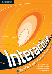 Книга для вчителя Interactive Level 3 Teacher's Book