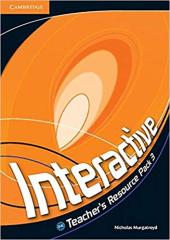 Підручник Interactive Level 3 Teacher's Resource Pack