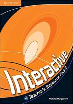 Аудіодиск Interactive Level 3 Teacher's Resource Pack