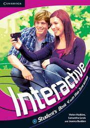 Підручник Interactive Level 4 Student's Book