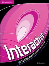 Підручник Interactive Level 4 Testmaker CD-ROM and Audio CD