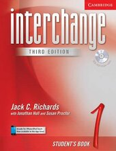 Interchange 3rd edition 1. Student's Book with Audio CD - фото обкладинки книги