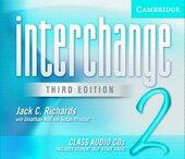 Interchange 3rd edition 2. Class Audio CDs (комплект із 3 аудіодисків) - фото обкладинки книги