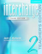 Interchange 3rd edition 2. Teacher's Edition - фото обкладинки книги