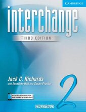 Interchange 3rd edition 2. Workbook - фото обкладинки книги