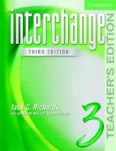 Interchange 3rd edition 3. Teacher's Edition - фото обкладинки книги