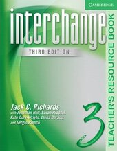 Interchange 3rd edition 3. Teacher's Resource Book - фото обкладинки книги