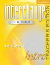Interchange 3rd edition Intro. Teacher's Edition - фото обкладинки книги