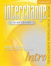 Interchange 3rd edition Intro. Teacher's Resource Book - фото обкладинки книги