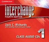 Interchange 4th Edition 1. Class Audio CDs (комплект із 3 аудіодисків) - фото обкладинки книги