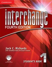 Interchange 4th Edition 1. Student's Book with Self-study DVD-ROM - фото обкладинки книги