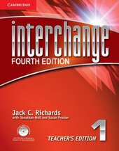Interchange 4th Edition 1. Teacher's Edition with Assessment Audio CD/CD-ROM - фото обкладинки книги