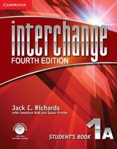 Interchange 4th Edition 1A. Student's Book with Self-study DVD-ROM - фото обкладинки книги