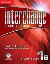 Interchange 4th Edition 1B. Student's Book with Self-study DVD-ROM - фото обкладинки книги