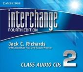 Interchange 4th Edition 2. Class Audio CDs (комплект із 3 аудіодисків) - фото обкладинки книги