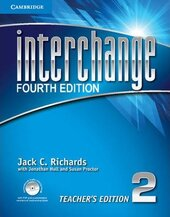 Interchange 4th Edition 2. Teacher's Edition with Assessment Audio CD/CD-ROM - фото обкладинки книги