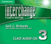 Interchange 4th Edition 3. Class Audio CDs (комплект із 3 аудіодисків) - фото обкладинки книги