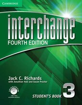 Interchange 4th Edition 3. Student's Book with Self-study DVD-ROM - фото обкладинки книги