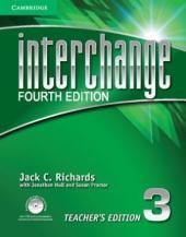 Interchange 4th Edition 3. Teacher's Edition with Assessment Audio CD/CD-ROM - фото обкладинки книги