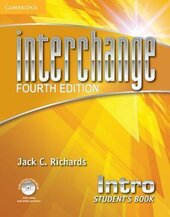 Interchange 4th Edition Intro. Student's Book with Self-study DVD-ROM - фото обкладинки книги