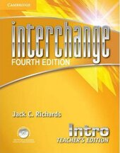 Interchange 4th Edition Intro. Teacher's Edition with Assessment Audio CD/CD-ROM - фото обкладинки книги