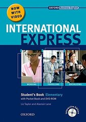 International Express Interactive Edition Elementary: Student's Book, Pocket Book and DVD - фото обкладинки книги