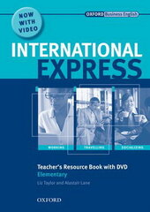 International Express Interactive Edition Elementary: Teacher's Resource Book with DVD - фото обкладинки книги