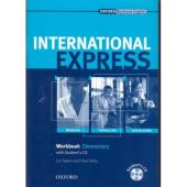 International Express Interactive Edition Elementary: Workbook with Audio CD - фото обкладинки книги