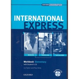 International Express Interactive Edition Elementary: Workbook with Audio CD - фото книги