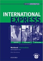 International Express Interactive Edition Intermediate: Workbook with Audio CD - фото обкладинки книги