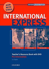 International Express Interactive Edition Pre-Intermediate: Teacher's Resource Book with DVD - фото обкладинки книги