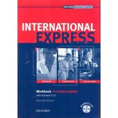 International Express Interactive Edition Pre-Intermediate: Workbook with Audio CD - фото обкладинки книги