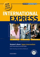 International Express Interactive Edition Upper-Int.: Student's Book, Pocket Book + DVD - фото обкладинки книги