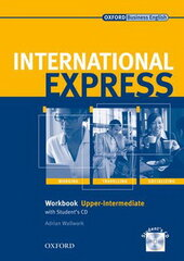 International Express Interactive Edition Upper-Intermediate Workbook with Audio CD (роб. зошит) - фото обкладинки книги