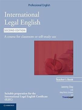 International Legal English. Teacher's Book - фото книги