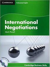 International Negotiations Student's Book with Audio CDs (2) (Cambridge Business Skills) - фото обкладинки книги